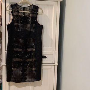 Black lace dress Moulinette Soeurs Anthropologie